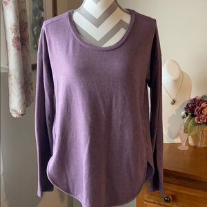 Sonoma purple LS top